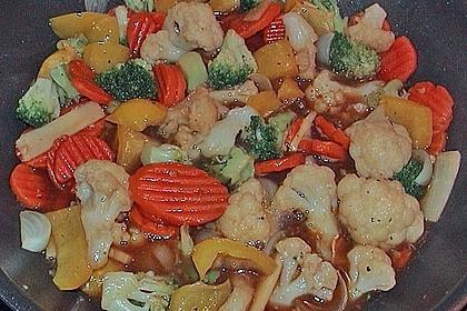 China - Gemüse - Pfanne