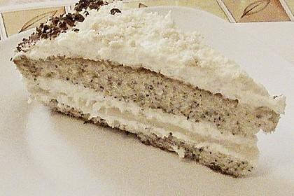 Mohn - Marzipan - Torte 7