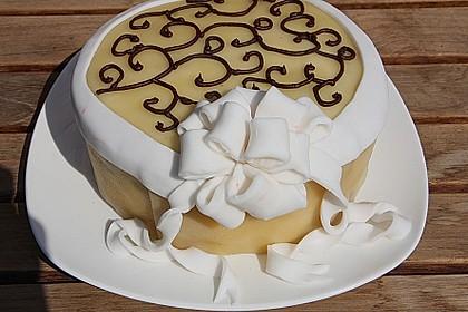 Mohn - Marzipan - Torte 2