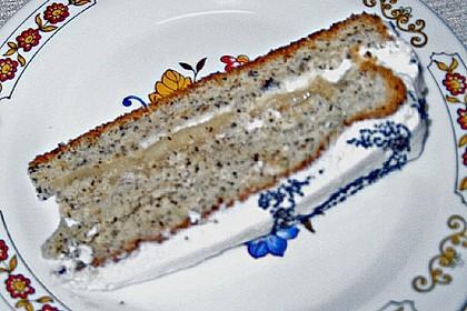 Mohn - Marzipan - Torte 11