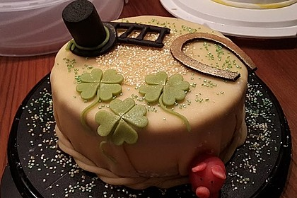 Mohn - Marzipan - Torte