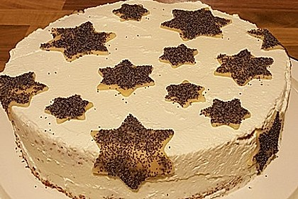 Mohn - Marzipan - Torte 1
