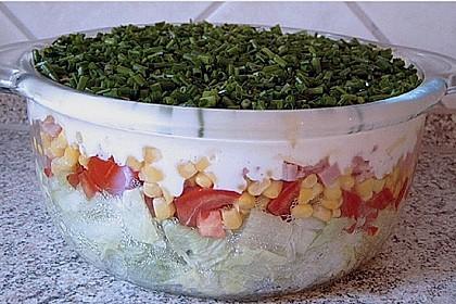 Knackig frischer Schichtsalat 1