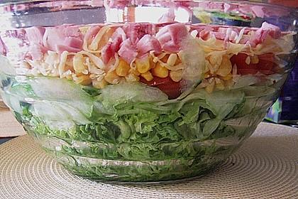 Knackig frischer Schichtsalat 2