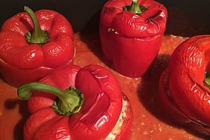 Gefüllte Paprika mit Bulgur 19
