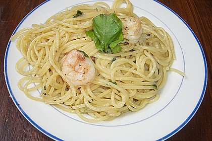 Spaghettini aglio, olio e peperoncino 39