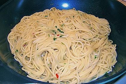 Spaghettini aglio, olio e peperoncino 41