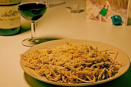 Spaghettini aglio, olio e peperoncino 53