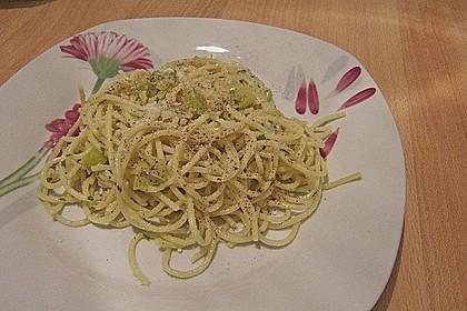 Spaghettini aglio, olio e peperoncino 55