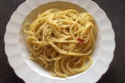 Spaghettini aglio, olio e peperoncino 63