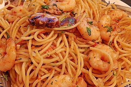 Spaghettini aglio, olio e peperoncino 37