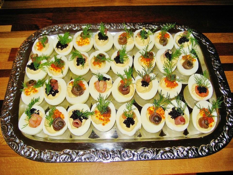 Gef llte eier rezept mit bild von gimor - Gekochte eier dekorieren ...