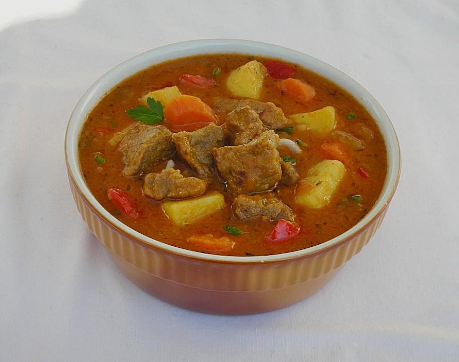 Ungarisches gulasch rezept mit bild von owoerndle for Ungarisches gulasch