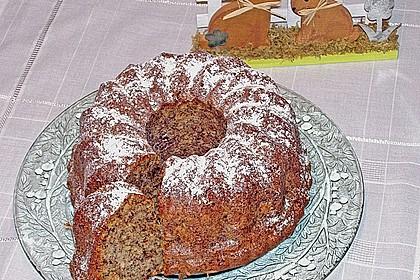 Schoko - Apfel - Nuss - Gugelhupf