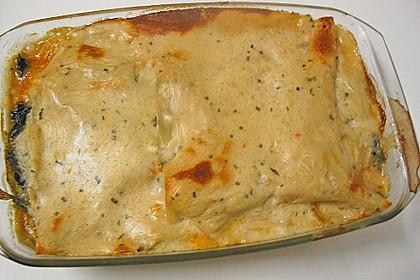 Lasagne mit Wirsing, Hackfleisch und Schafskäse 1