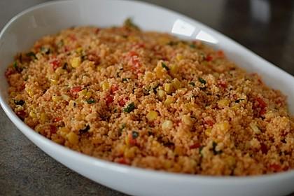 Couscous-Salat lecker würzig 48