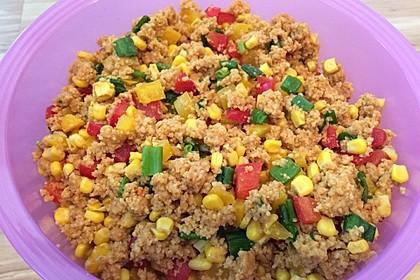 Couscous-Salat lecker würzig 43