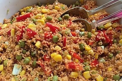 Couscous-Salat lecker würzig 34