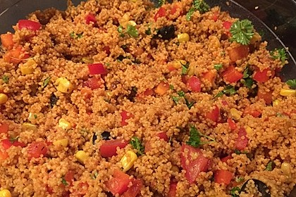 Couscous-Salat lecker würzig 82