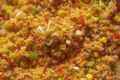Couscous-Salat, lecker würzig 114