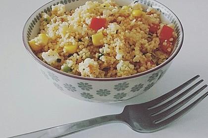 Couscous-Salat lecker würzig 45