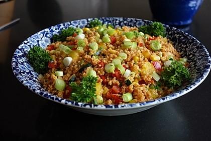 Couscous-Salat lecker würzig 2