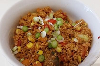 Couscous-Salat lecker würzig 1