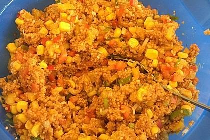 Couscous-Salat, lecker würzig 67