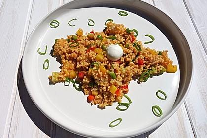 Couscous-Salat, lecker würzig 17