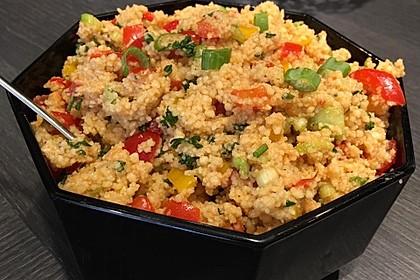 Couscous-Salat, lecker würzig 4