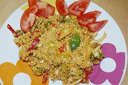 Couscous-Salat, lecker würzig 108