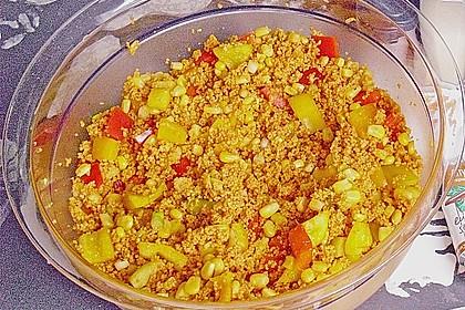 Couscous-Salat, lecker würzig 115