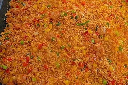 Couscous-Salat, lecker würzig 138