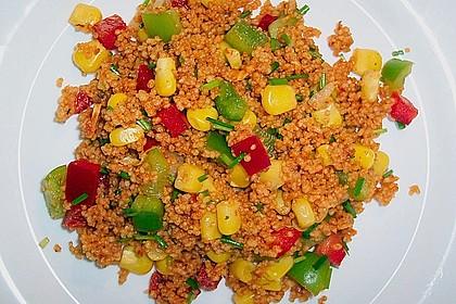 Couscous-Salat, lecker würzig 21