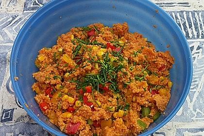 Couscous-Salat, lecker würzig 76