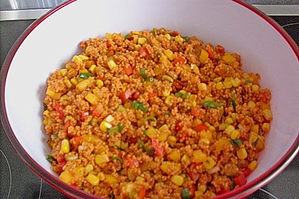 Couscous-Salat, lecker würzig 122