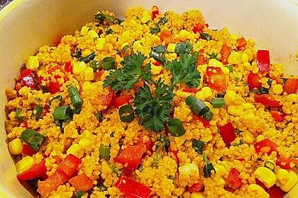 Couscous-Salat, lecker würzig 103