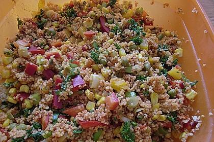 Couscous-Salat, lecker würzig 70