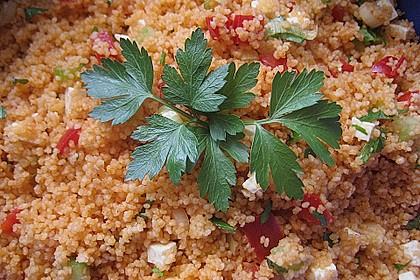 Couscous-Salat, lecker würzig 60