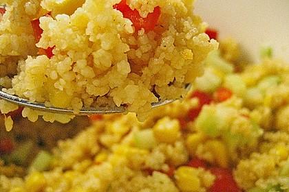 Couscous-Salat, lecker würzig 101