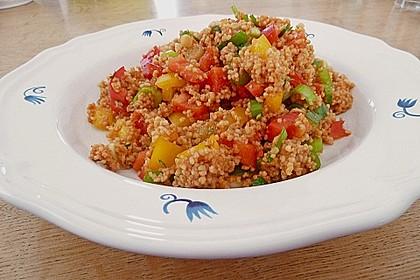 Couscous-Salat, lecker würzig 47