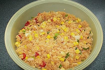 Couscous-Salat, lecker würzig 126