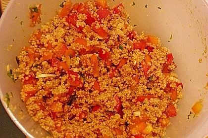 Couscous-Salat, lecker würzig 134