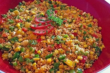 Couscous-Salat, lecker würzig 9