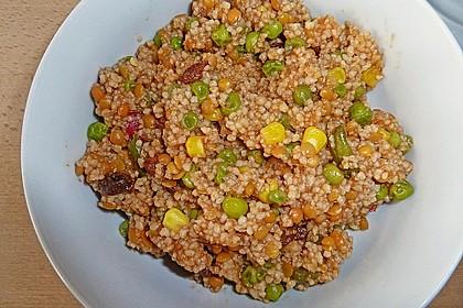 Couscous-Salat, lecker würzig 111