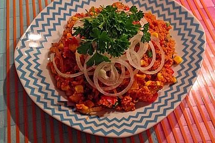 Couscous-Salat, lecker würzig 110