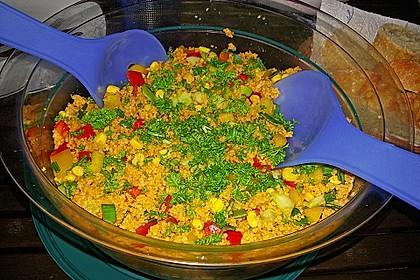 Couscous-Salat, lecker würzig 96