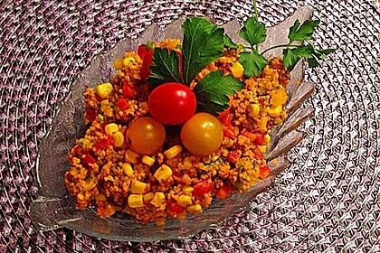Couscous-Salat, lecker würzig 112