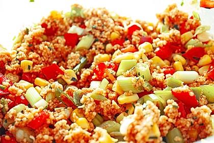 Couscous-Salat, lecker würzig 40