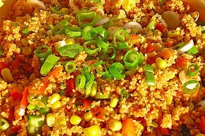 Couscous-Salat, lecker würzig 13
